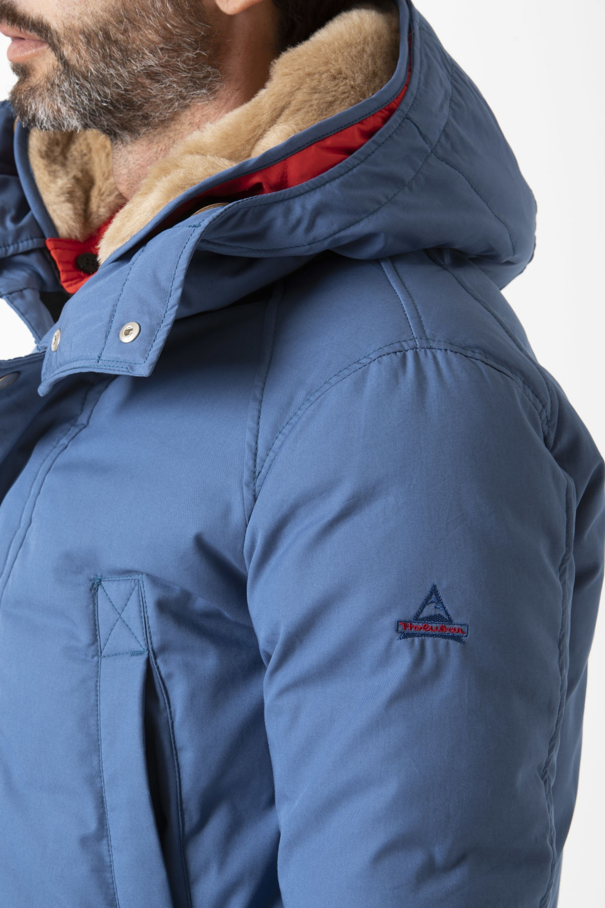 SHORT BOULDER Jacket for man HOLUBAR F/W 19-20