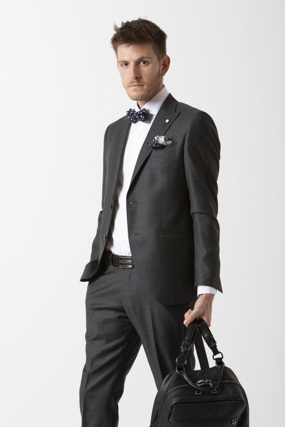 Suit for man LUIGI BIANCHI MANTOVA F/W 19-20