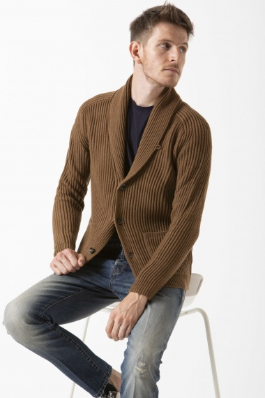 Cardigan for man PAOLO PECORA F/W 19-20