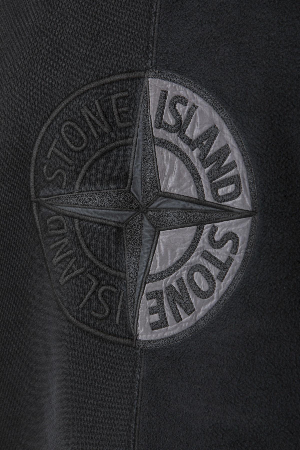 Felpa TINTO OLD per uomo STONE ISLAND A/I 19-20