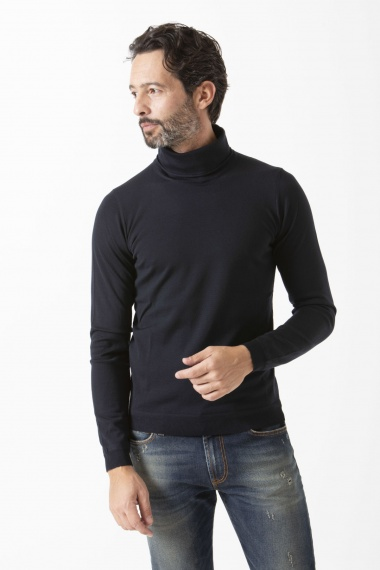 Rollneck pullover for man GOES BOTANICAL F/W 19-20