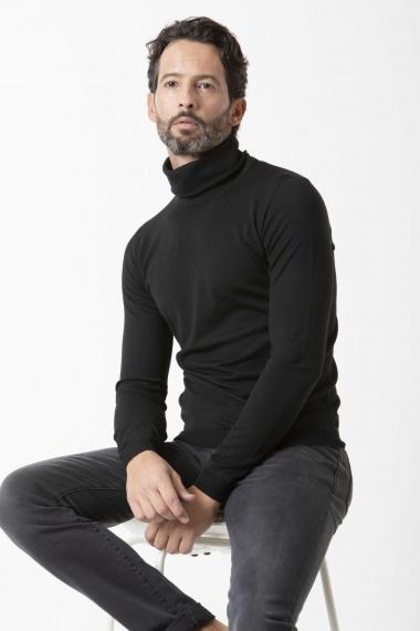 Herren Rollkragen Pullover GOES BOTANICAL