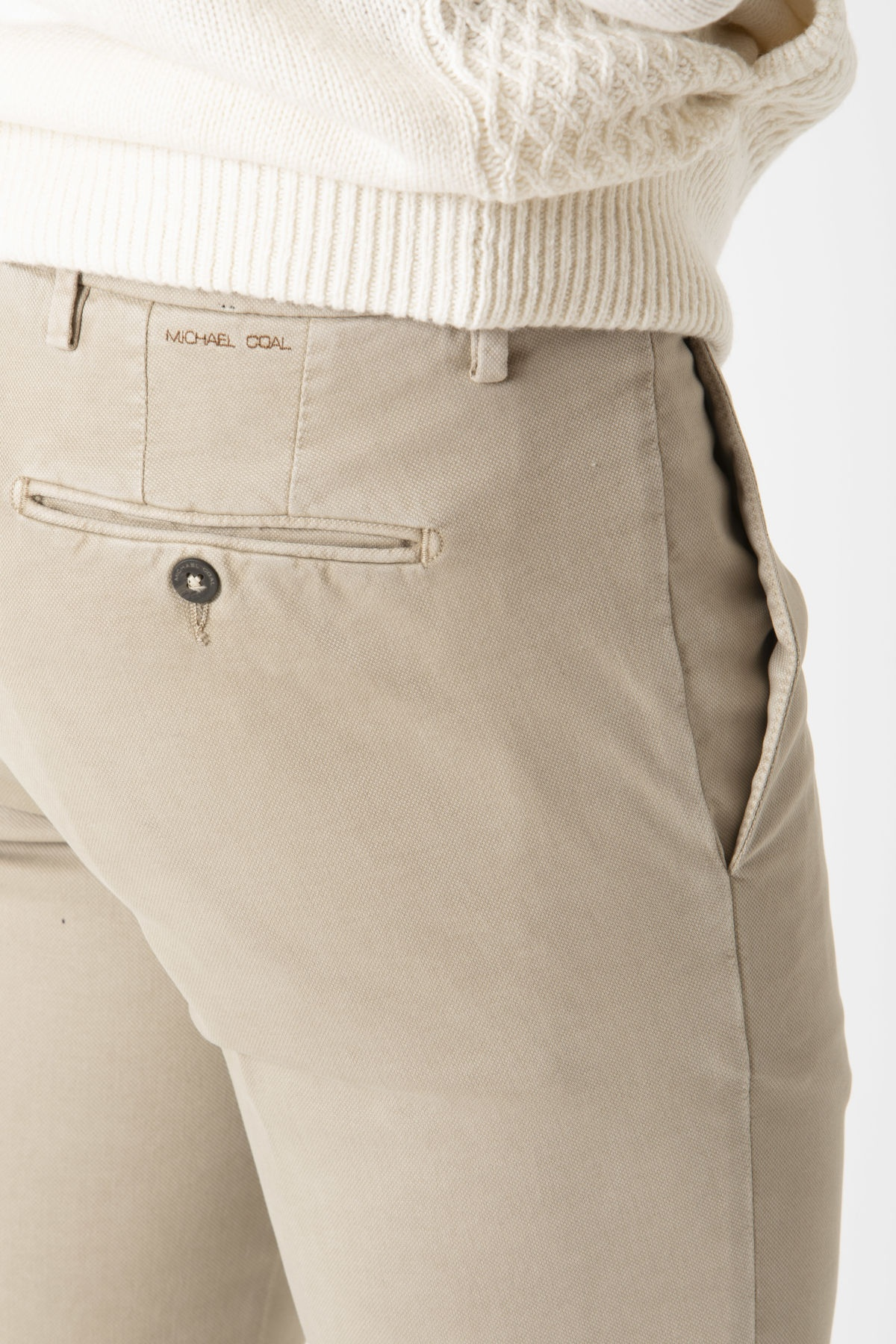 RICKY Trousers for man MICHAEL COAL F/W 19-20