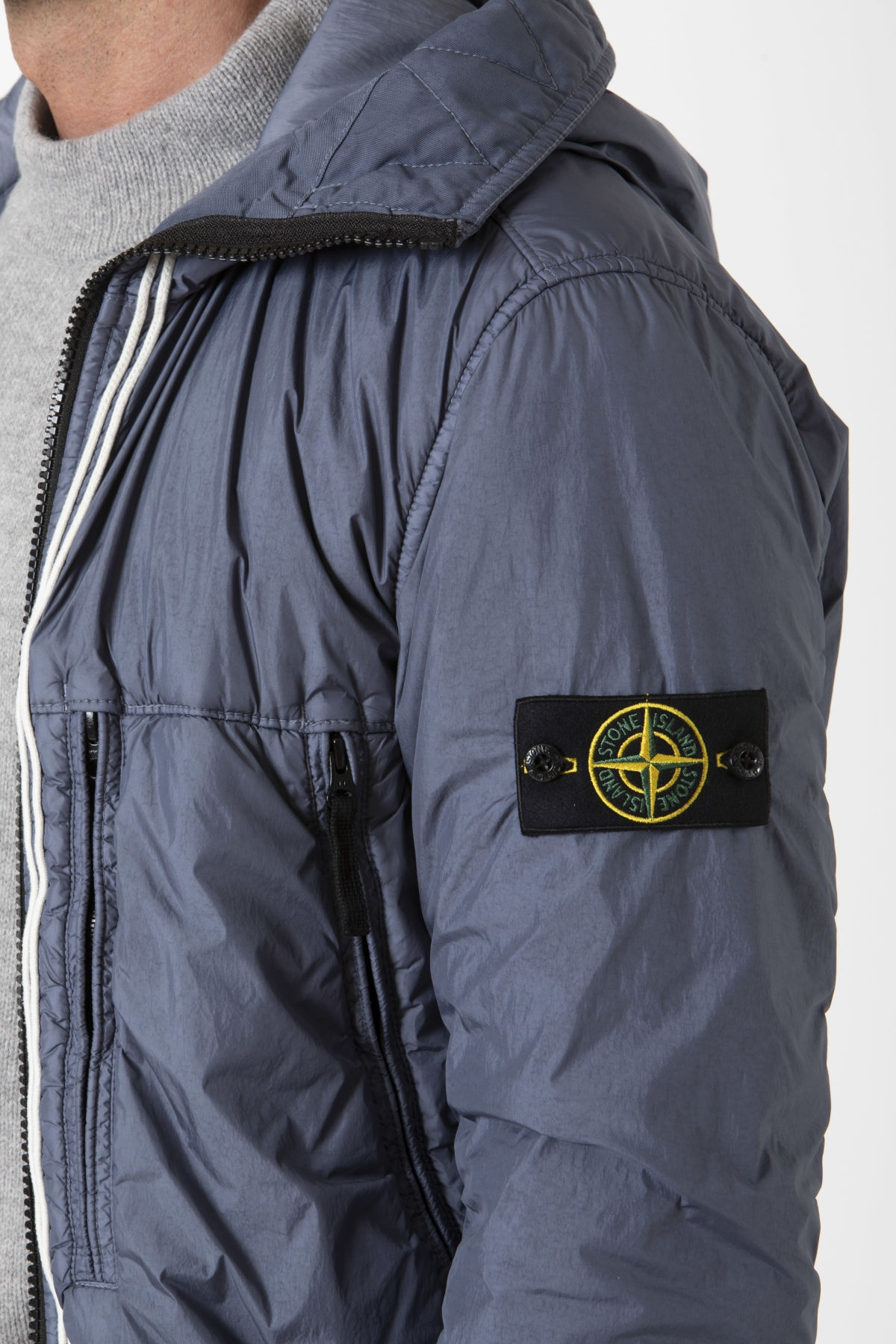 Giubbotto GARMENT DYED CRINKLE REPS NY per uomo STONE ISLAND A/I 19-20