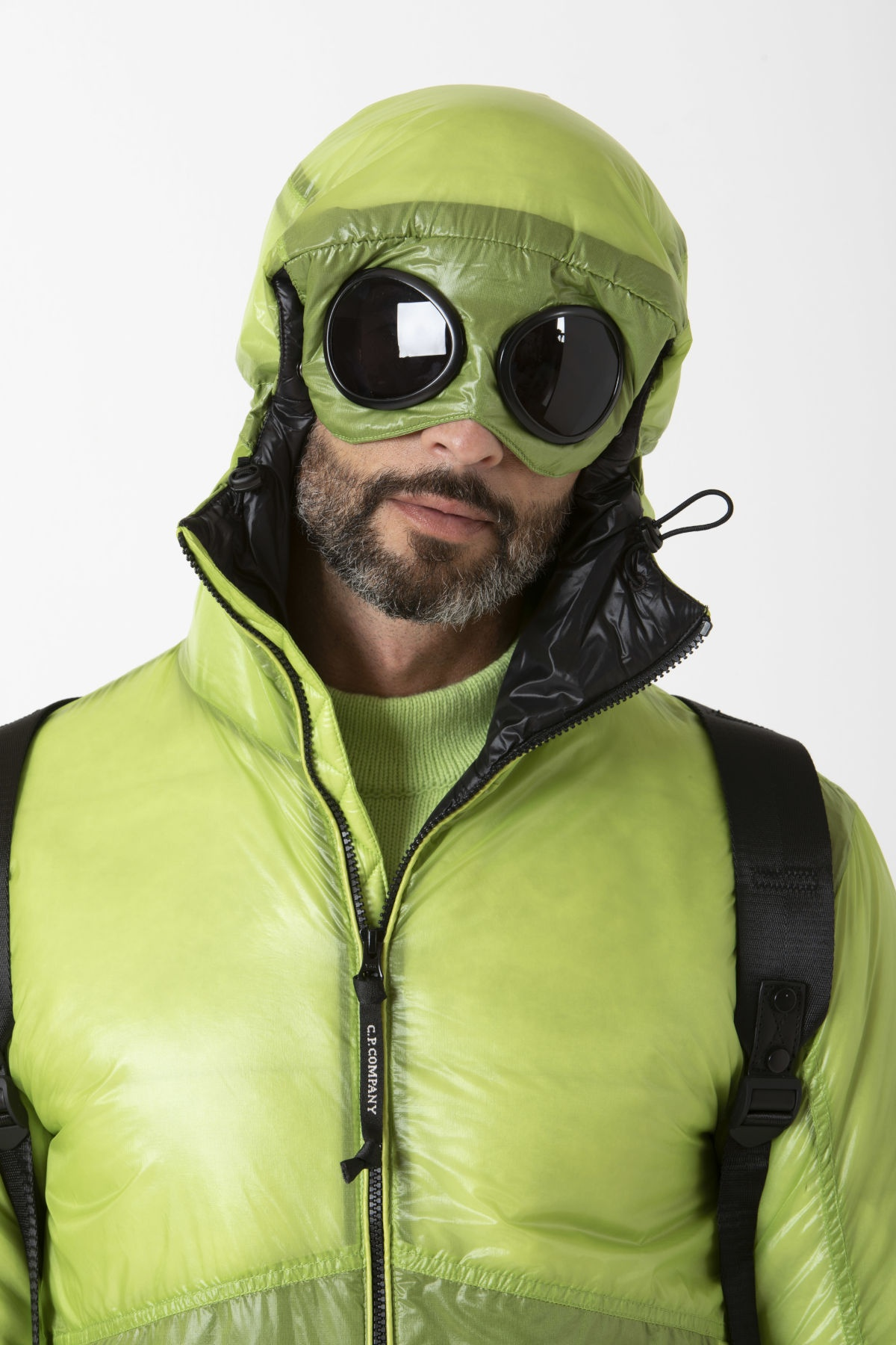 OUTLINE GOGGLE JACKET Jacket for man C.P. COMPANY F/W