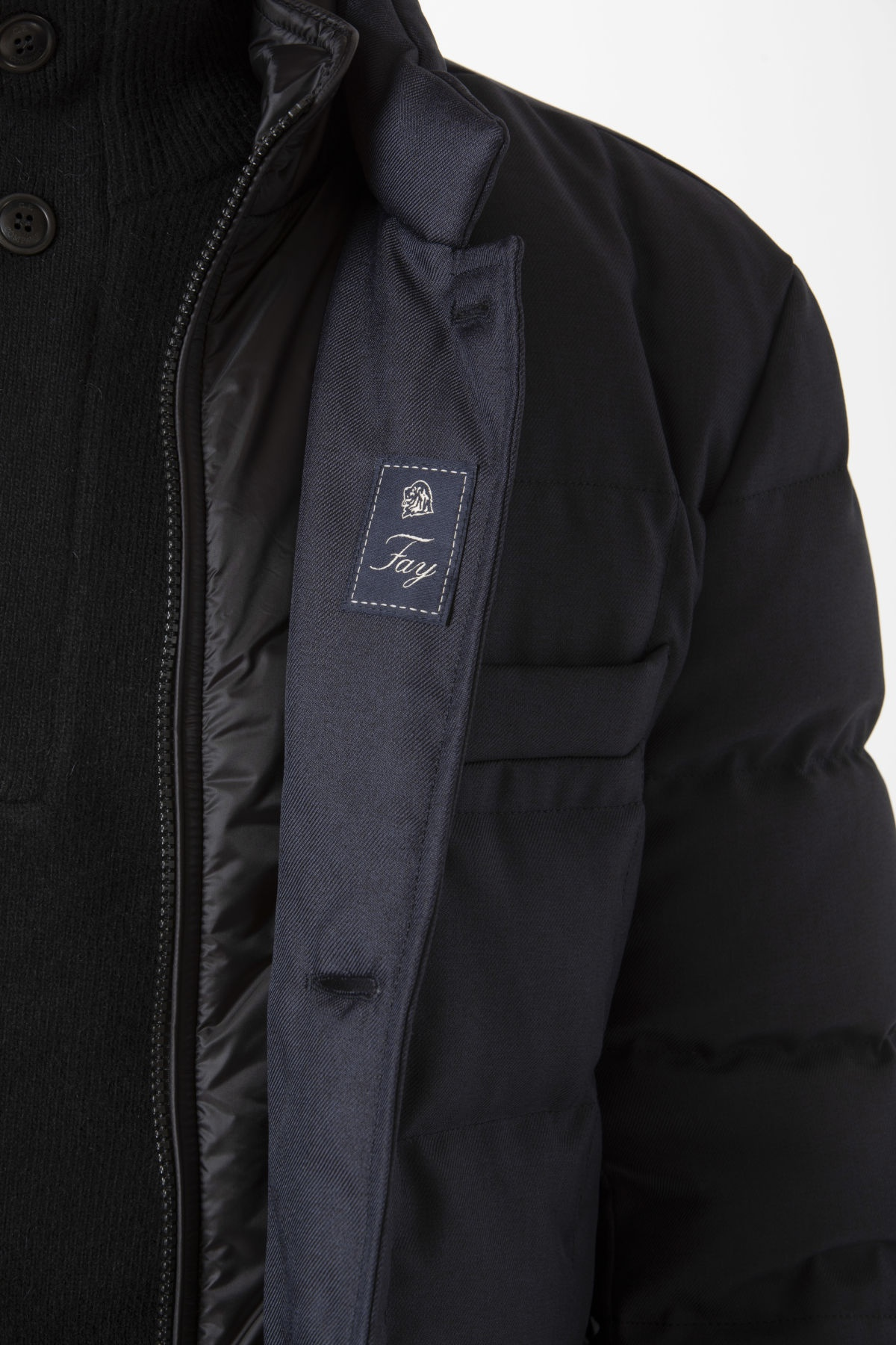 DOUBLE FRONT Jacket for man FAY F/W 19-20