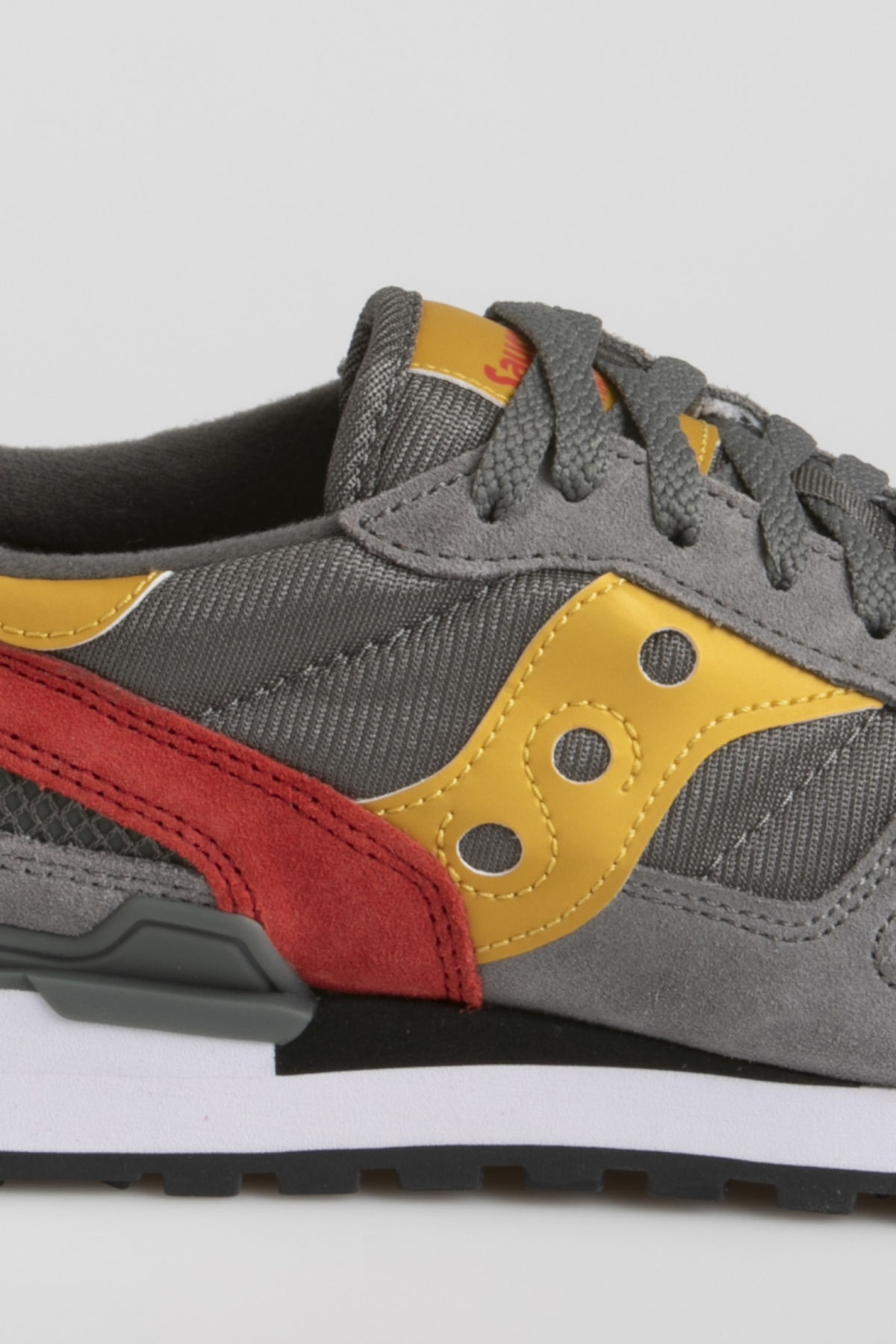 SAUCONY SHADOW O' grey / red/ yellow F/W 19-20