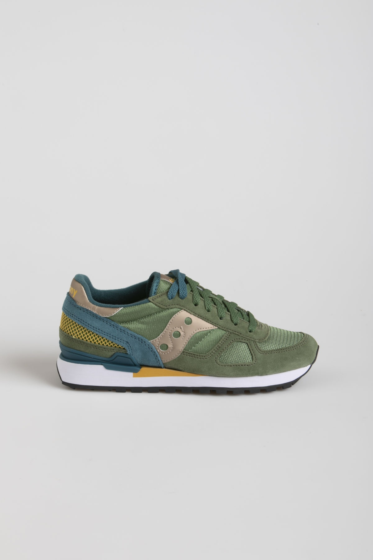 SAUCONY SHADOW O' green / teal / yellow F/W 19-20
