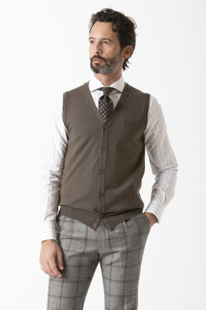 Vest for man PAOLO PECORA F/W 19-20