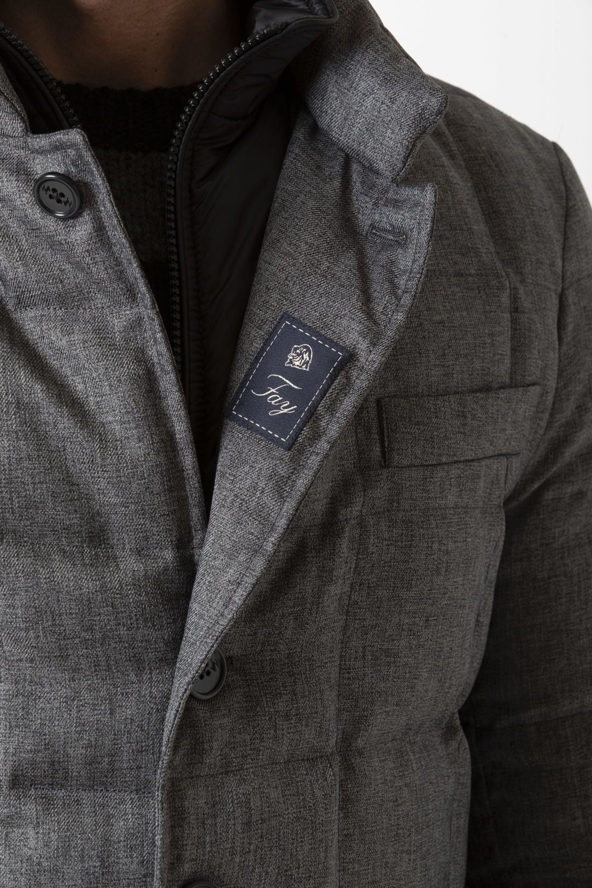 DOUBLE FRONT Jacket for man FAY F/W