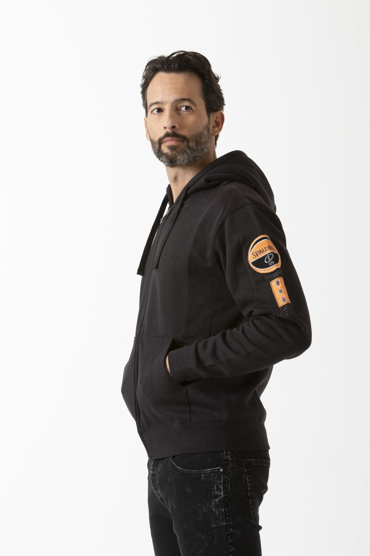Sweatshirt for man SPALDING F/W 19-20