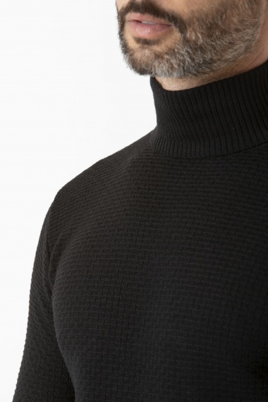 Herren Rollkragen Pullover BERTELLI H/W 19-20