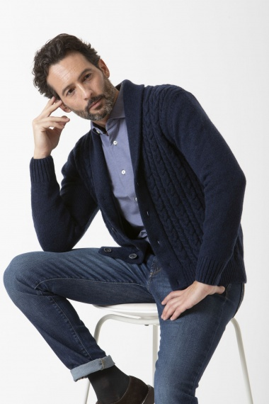 Cardigan for man LUCA BERTELLI F/W 19-20