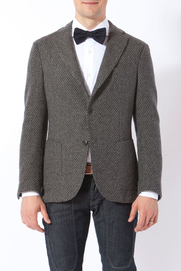 sale retailer d9725 c06bf MONTEDORO. Gray blazer for man FW