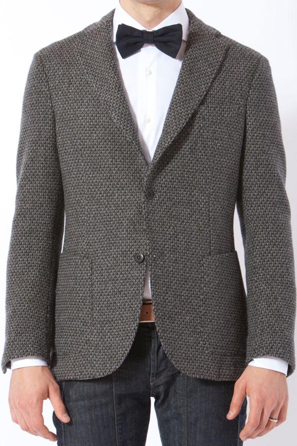 MONTEDORO. Gray blazer for man FW