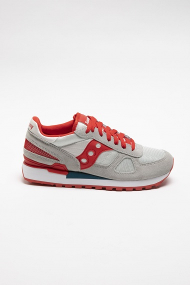 SAUCONY SHADOW O' grey / red S/S 20