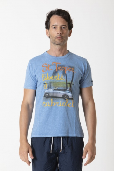 T-shirt for man MC2 SAINT BARTH S/S 20