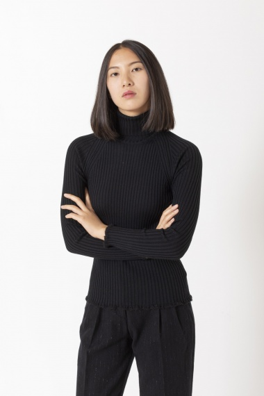 Roll-neck pullover for woman BRIAN DALES F/W 20-21