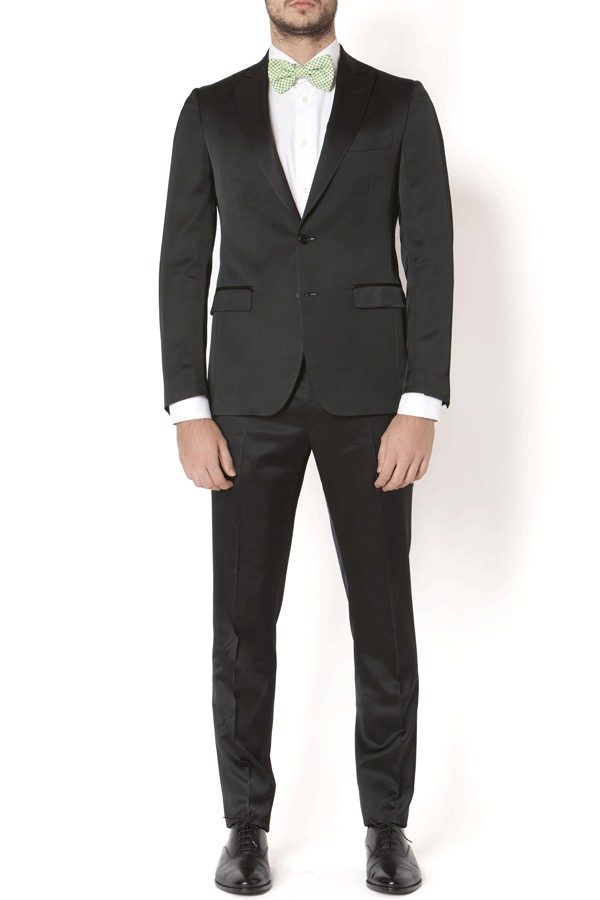 LARDINI. F/W. Black suit for man