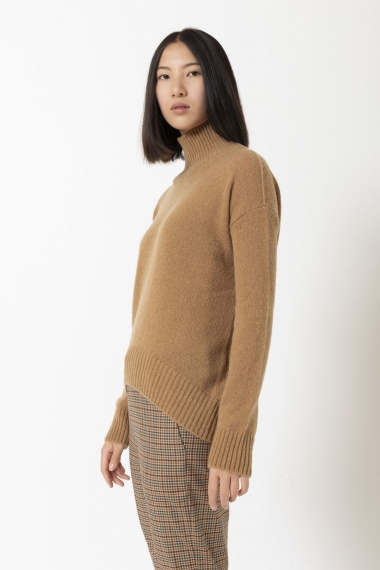 Roll-neck pullover for woman DONDUP F/W 20-21