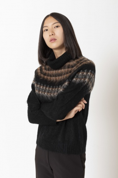 Roll-neck pullover for woman ALPHA F/W 20-21