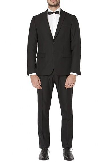 Black suit for men MAURO GRIFONI Abito nero per uomo