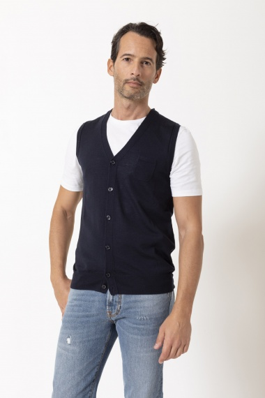 Vest for man PAOLO PECORA F/W 20-21