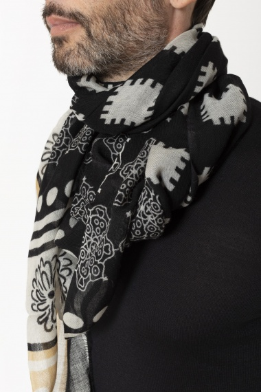 Scarf for man LUCA BERTELLI F/W