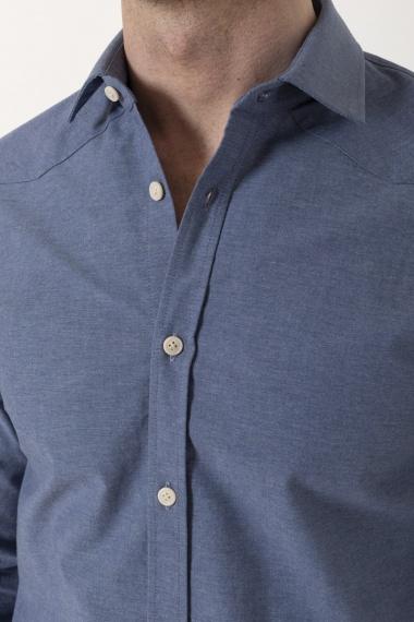 Camicia DENIM41 per uomo BORSA P/E 21