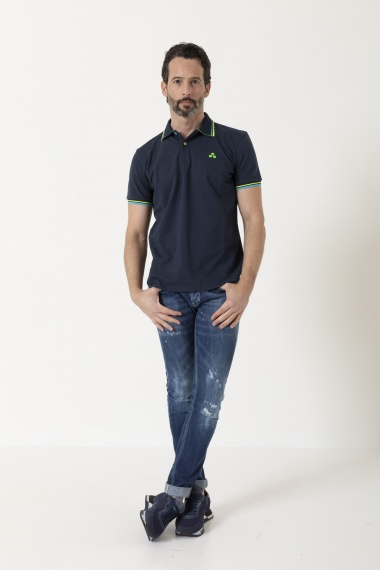 Polo for man PEUTEREY S/S 21
