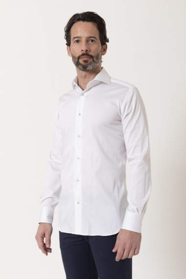 SLIM Shirt for man BORSA S/S 21