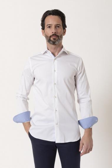 SLIM Shirt for man BORSA S/S 21