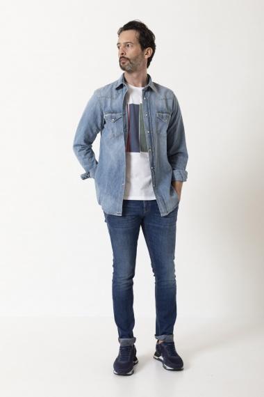 Camicia per uomo ROY ROGER'S P/E 21