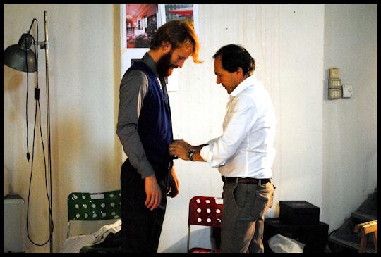 Lookbook autunno 2011. Backstage.