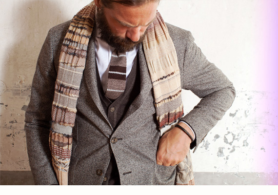 Relaxed Formality – Man look