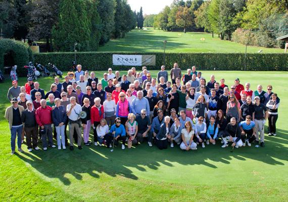 We Love Golf. Targa d'argento Ugo Scafa.