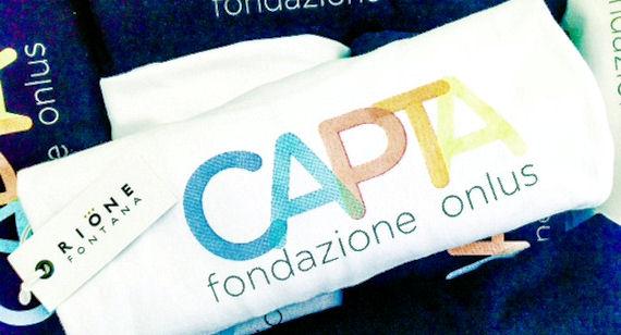 T-Shirt solidali. Fondazione Capta Onlus.