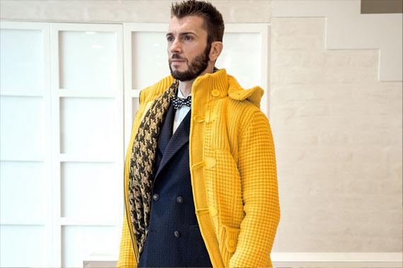 Rione Fontana Treviso - Yellow Blast - Outfit per uomo Autunno Inverno 2016 2017
