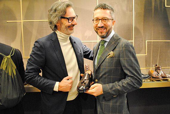 Marco Zambaldo e Jerry Giannini di Doucal's
