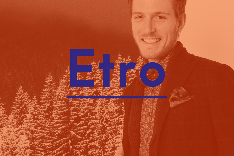 Etro, Nuova Collezione Uomo!