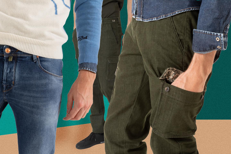 Pantaloni Uomo Jacob Cohën – LA NOVITÀ UOMO 2020
