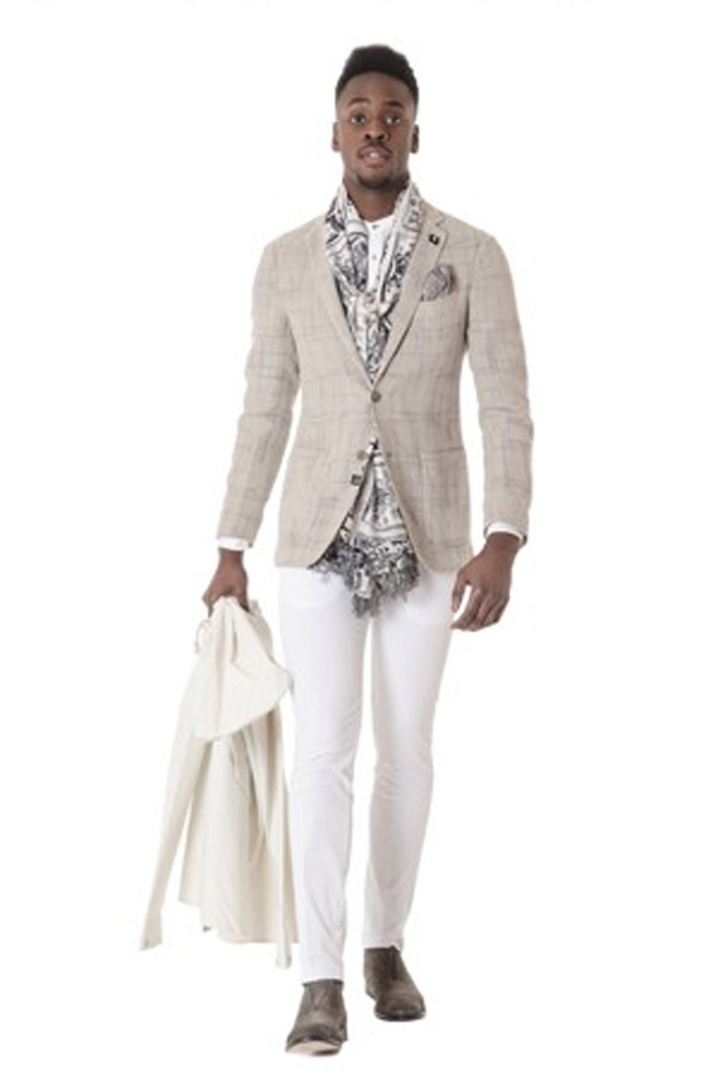 Look 83 - Man In White