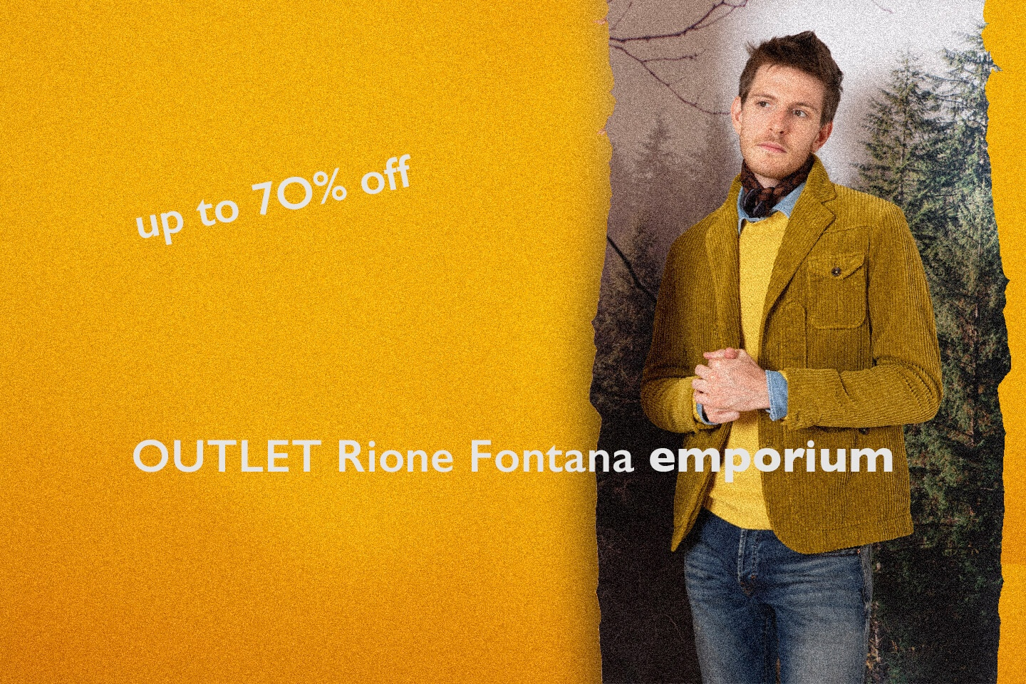 Outlet Uomo - Up To 70% Off!